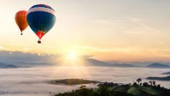 Hot Air Balloon Wallpaper 47598