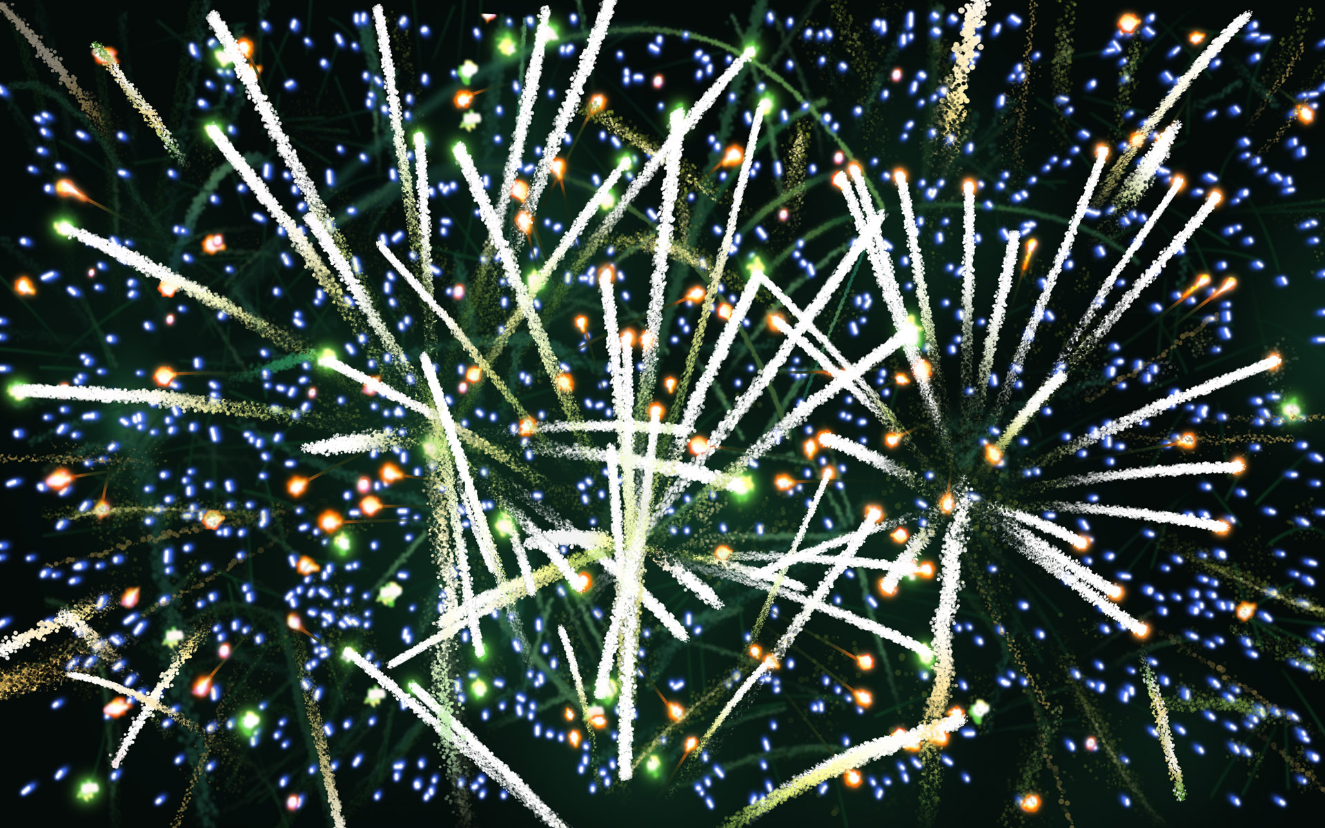 abstract fireworks wallpaper 47151