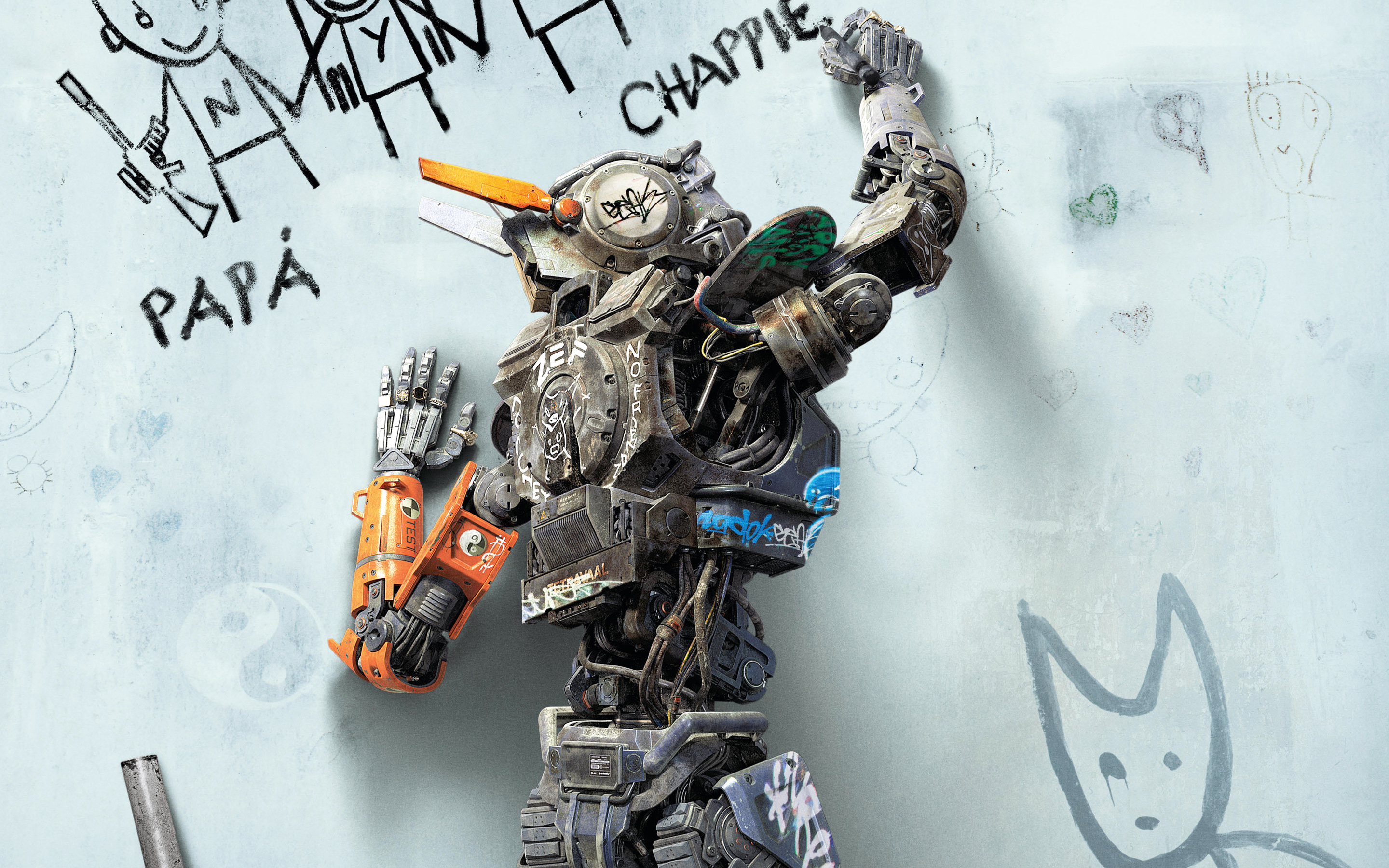 awesome chappie movie wallpaper 46271