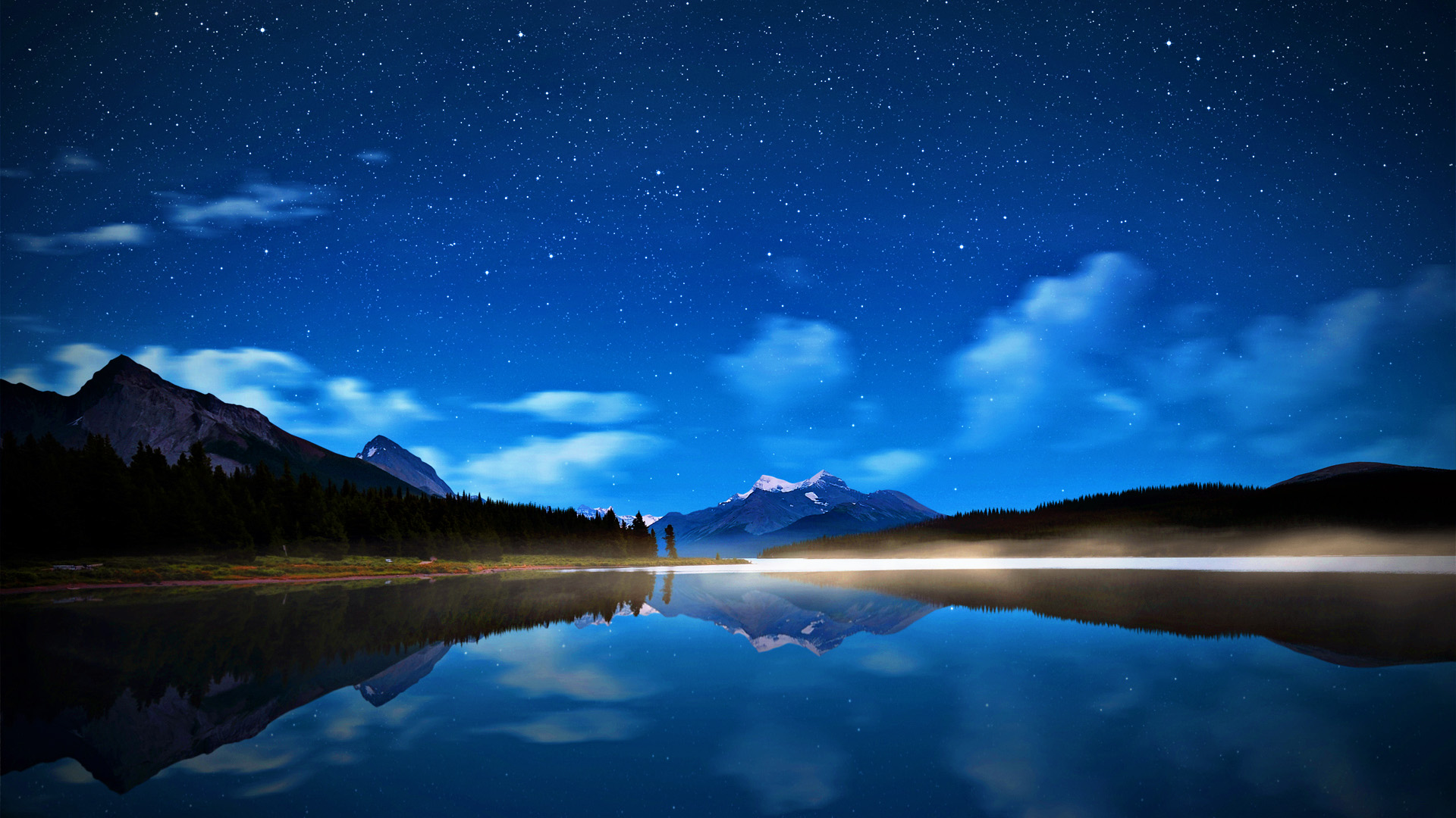 Beautiful Night Sky Wallpaper 46263 1920x1080 px ...