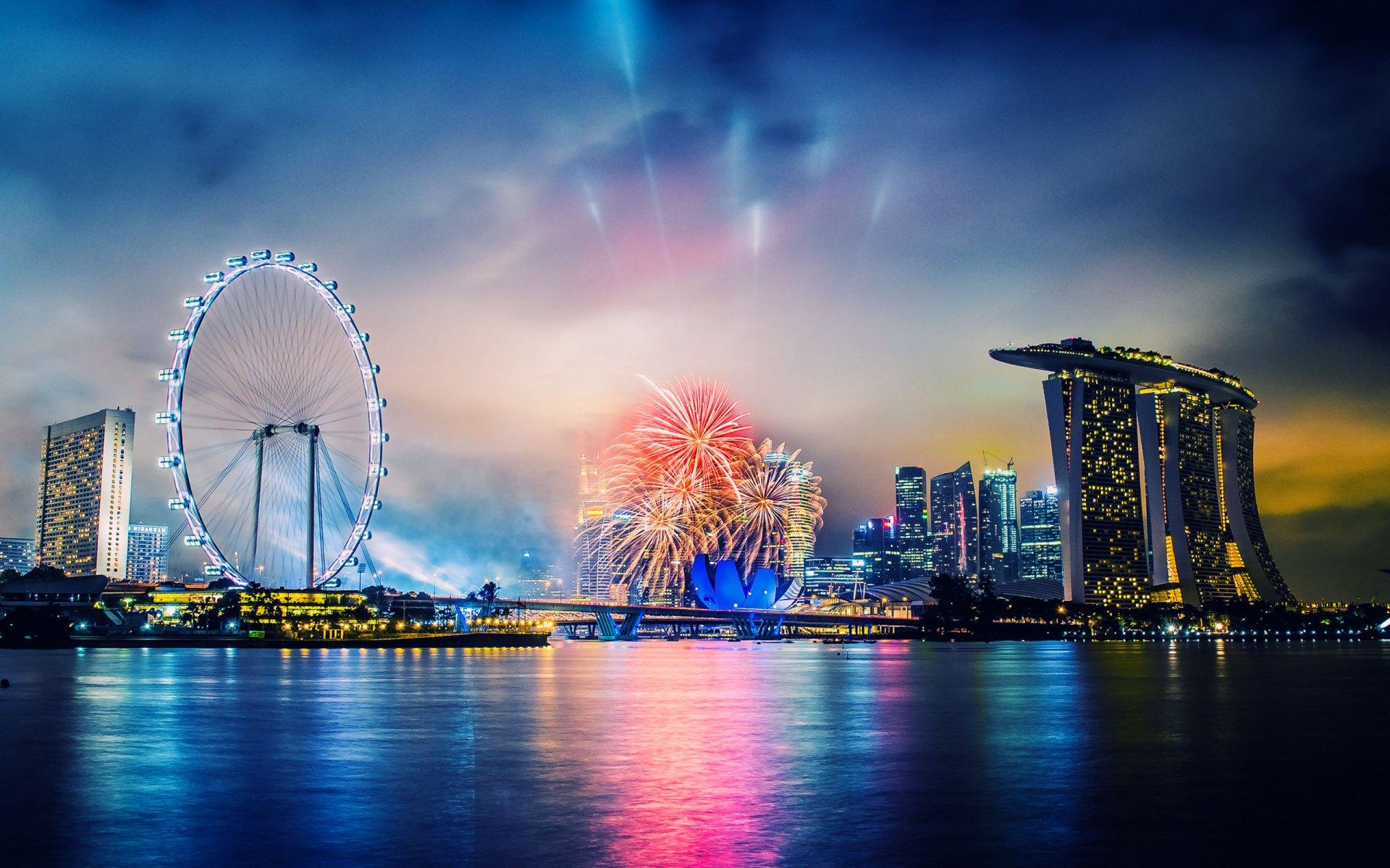 gorgeous fireworks wallpaper 47157