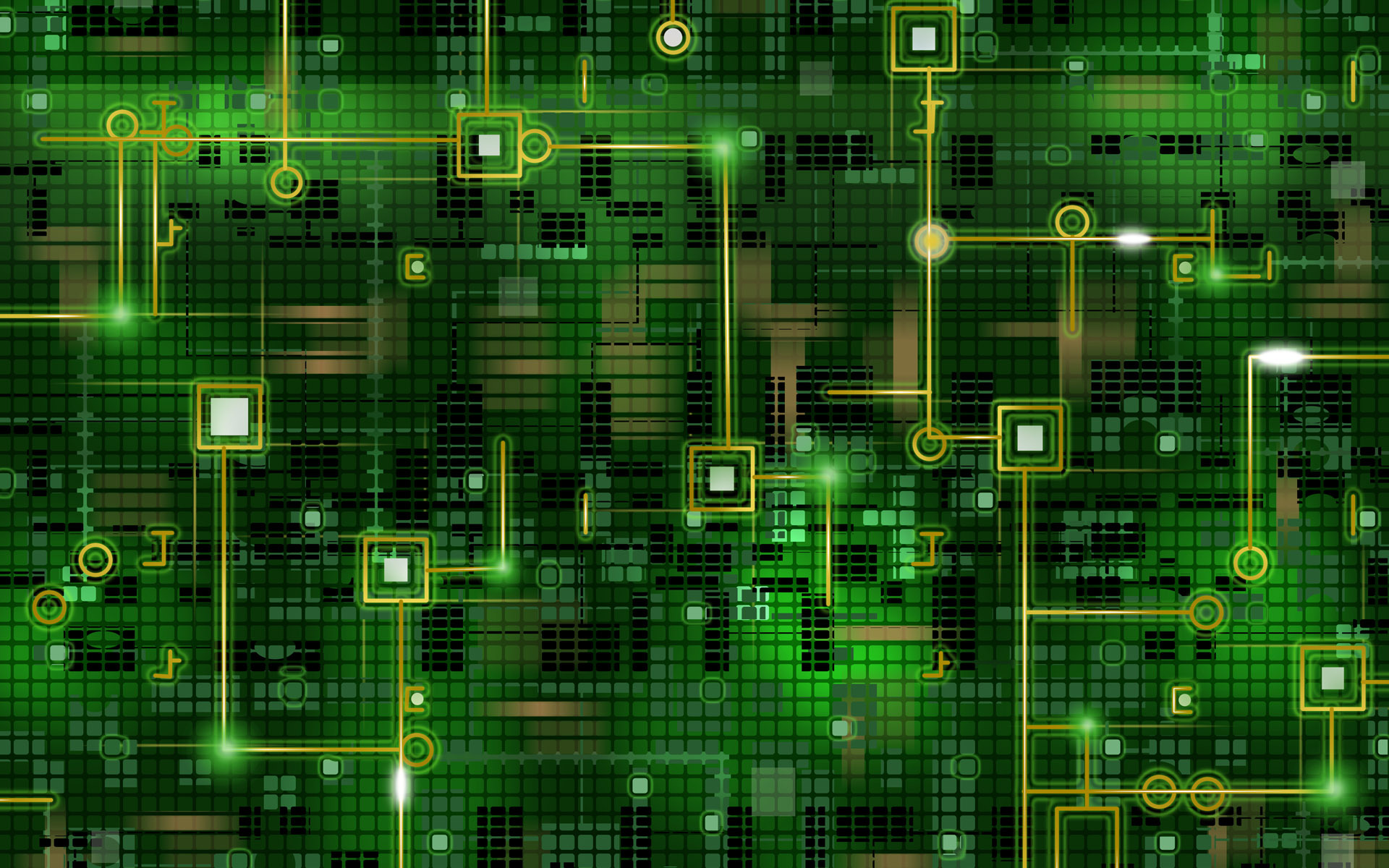 green digital wallpaper 47141