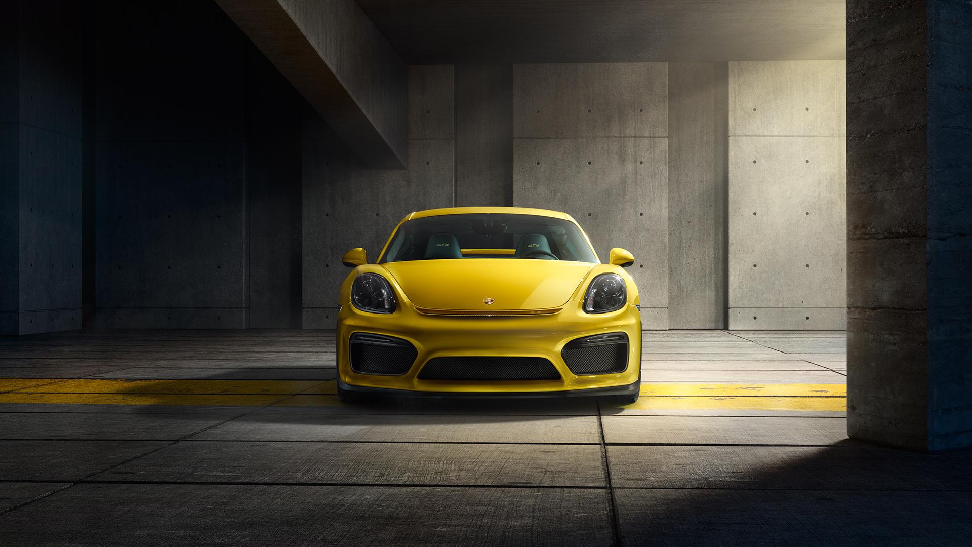 Porsche Cayman Gt4 Front View Wallpaper 47784 1920x1080px