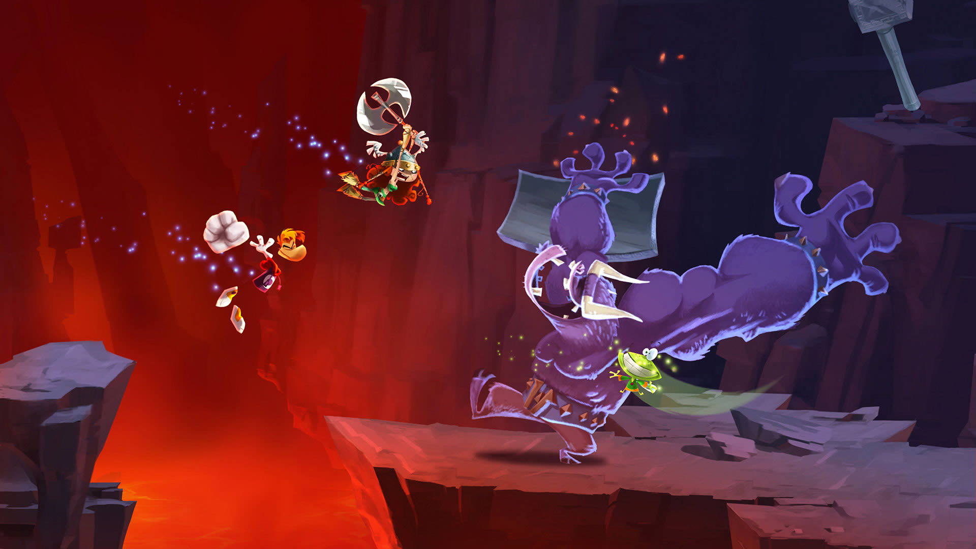 rayman legends video game wallpaper 46396