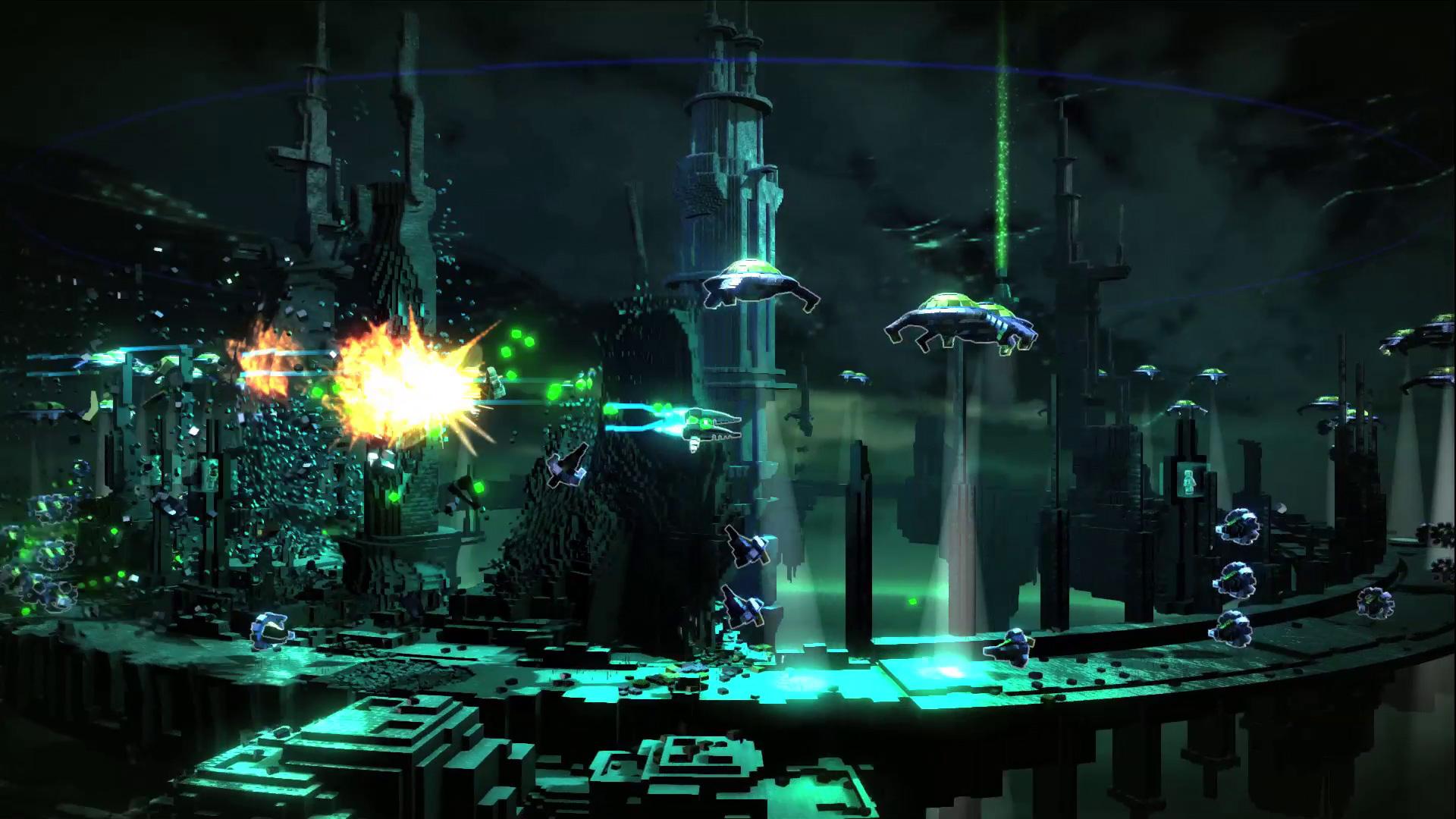 resogun video game wallpaper 46392