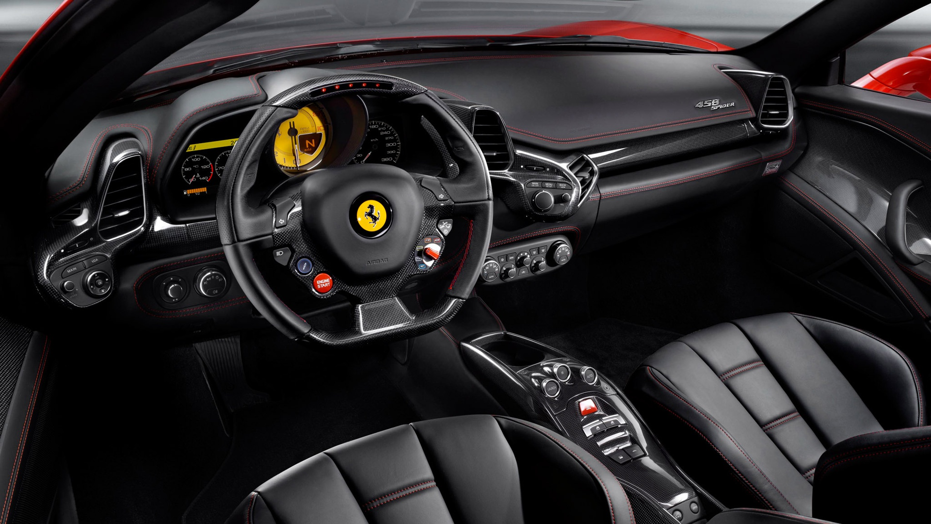 stunning ferrari interior wallpaper 45801