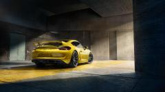 Porsche Cayman GT4 Rear View Wallpaper 47782