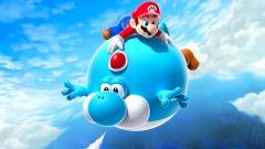 Yoshi and Mario Wallpaper 46795