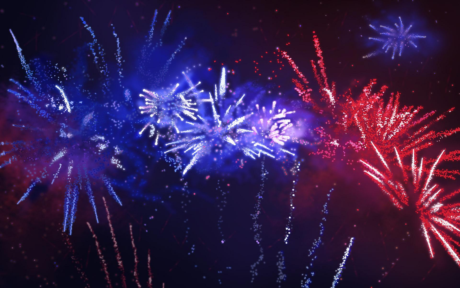 wonderful fireworks wallpaper 47152