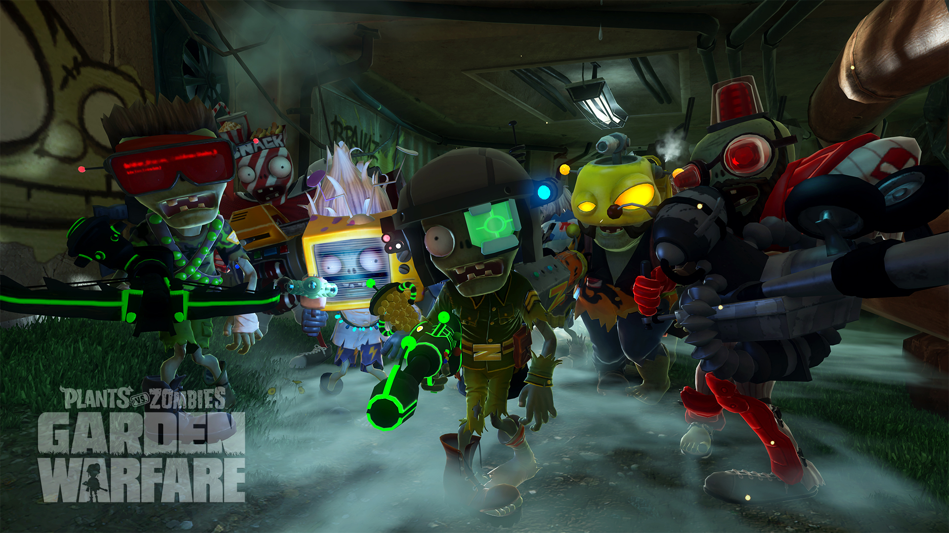 plants vs zombies garden warfare game wallpaper 49040