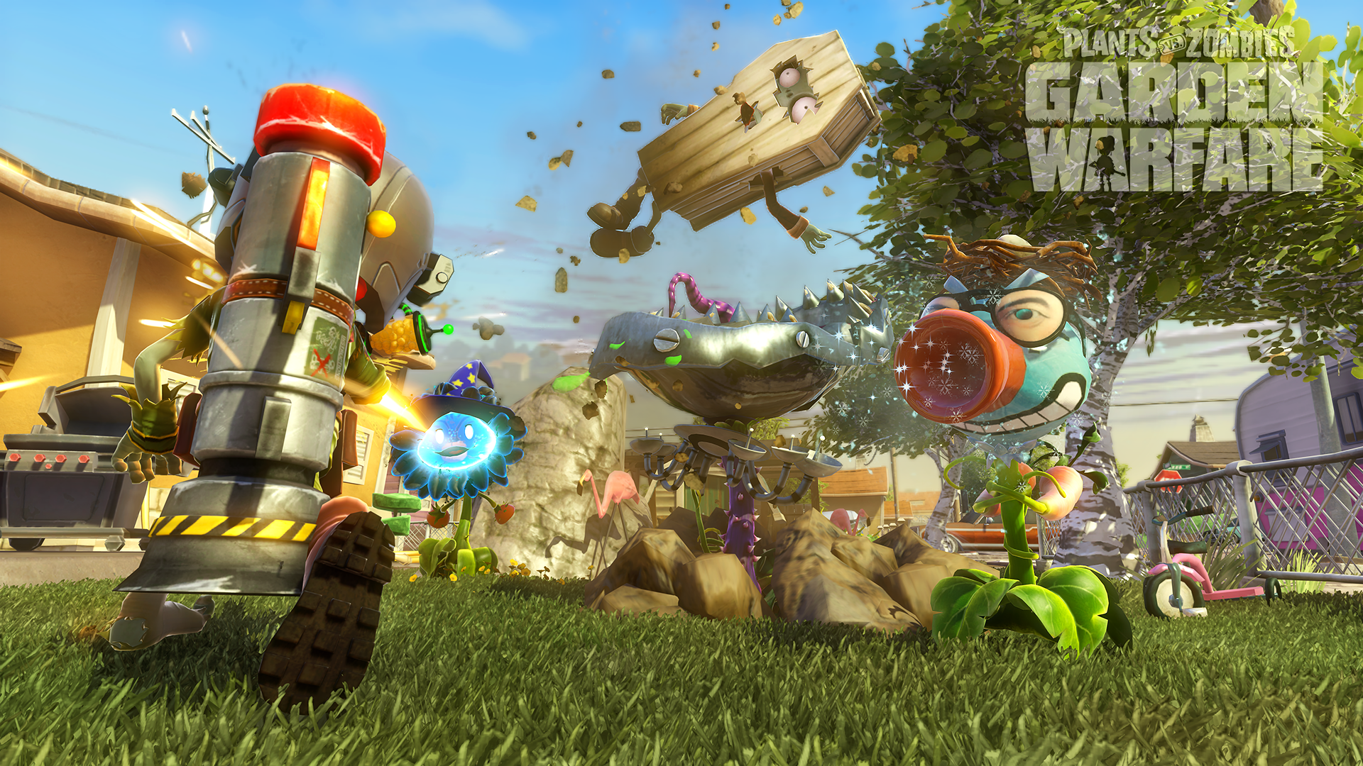 Plants Vs Zombies Garden Warfare Wallpaper Hd 49038 1920x1080 Px