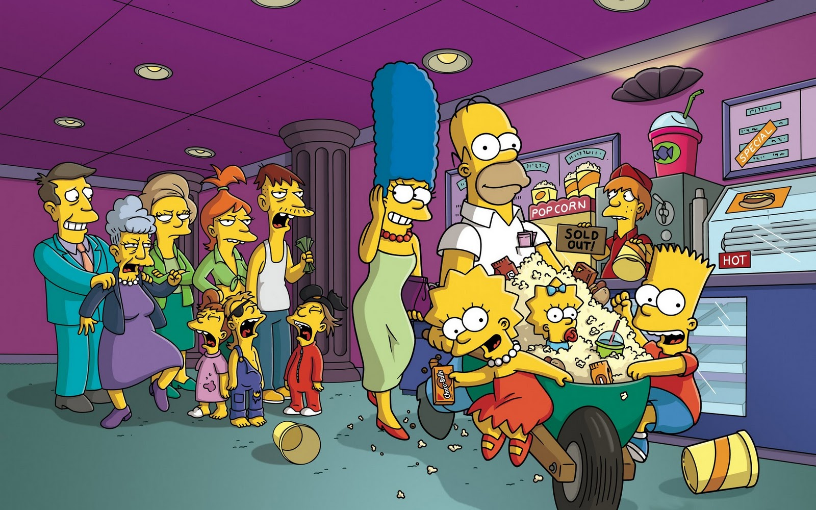 the simpsons wallpaper pictures 48976