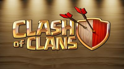 Clash of Clans Logo Wallpaper Background 58486
