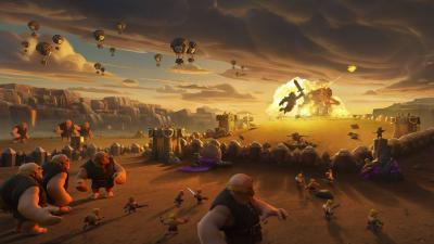 Clash of Clans Widescreen HD Wallpaper 58485