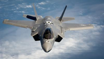 F35 Plane Wide Wallpaper 52700