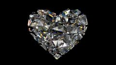 Heart Diamond Wallpaper HD 48973