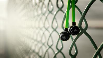 Razer In Ear Headphones Wide Wallpaper 58689