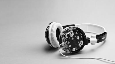 Skull Headphones Wallpaper 58695
