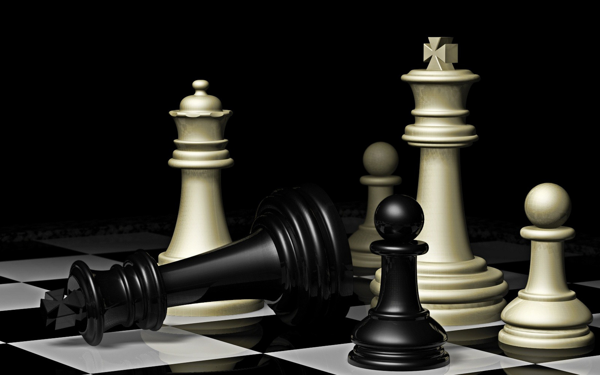 3d chess desktop wallpaper 49448