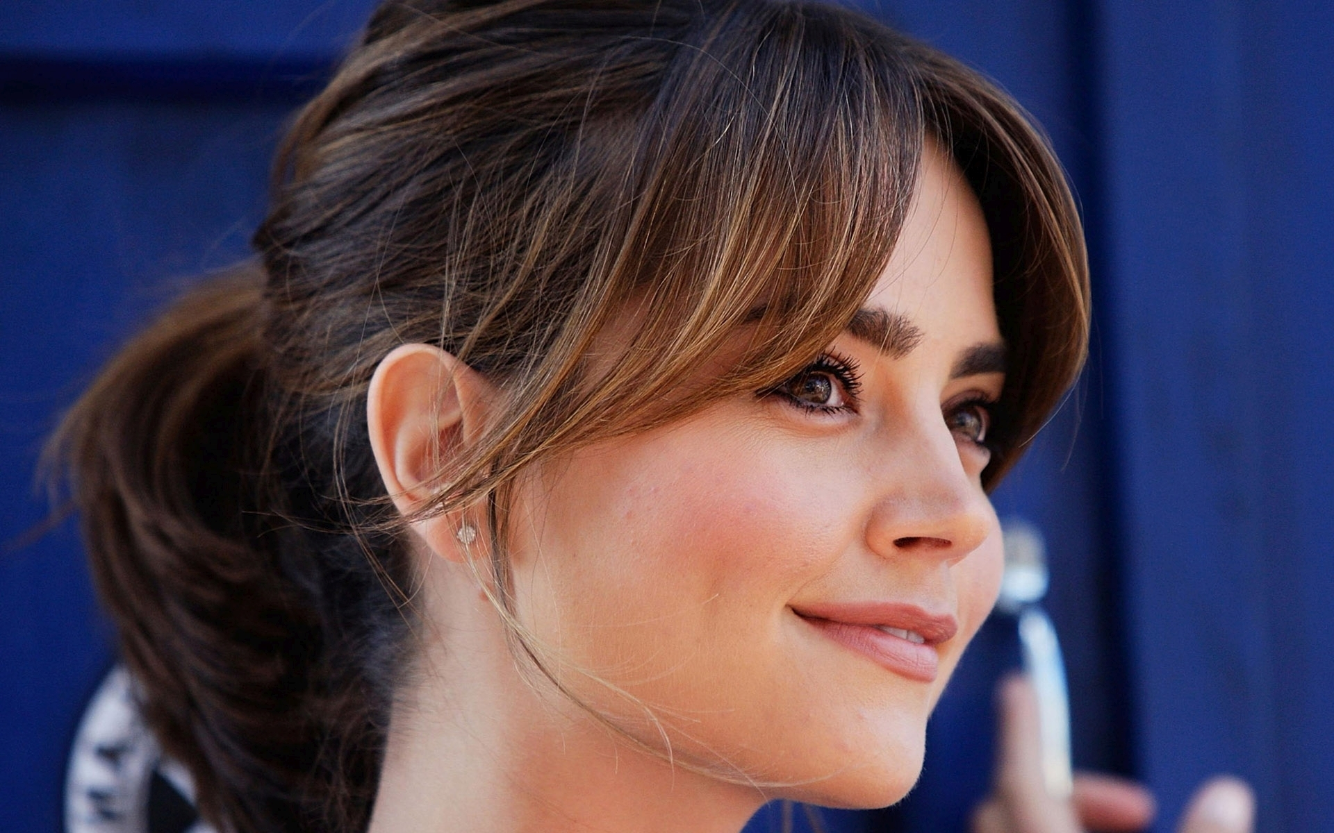 jenna coleman face hd wallpaper 57814