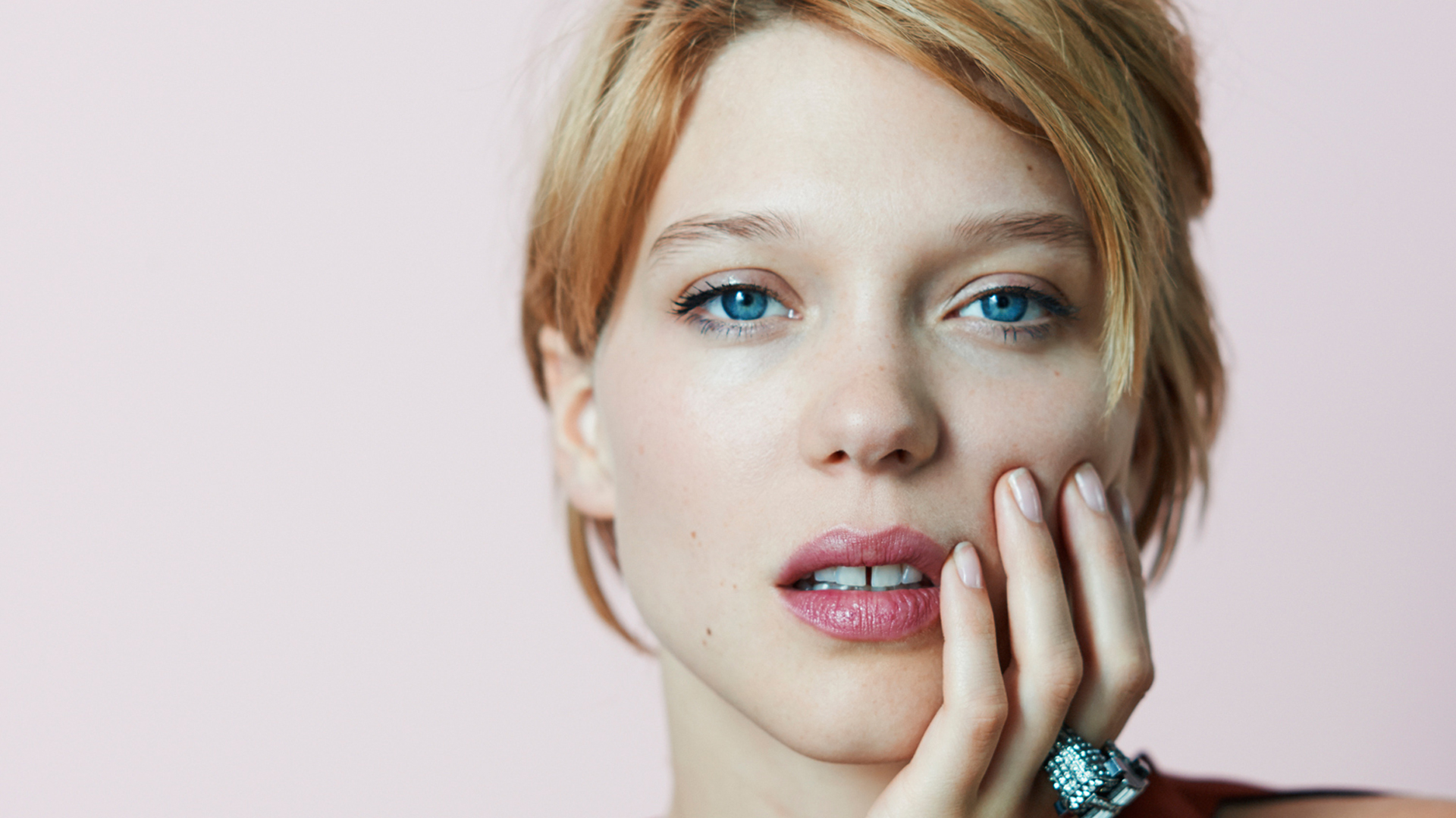 Lea Seydoux Face Wallpaper 54986