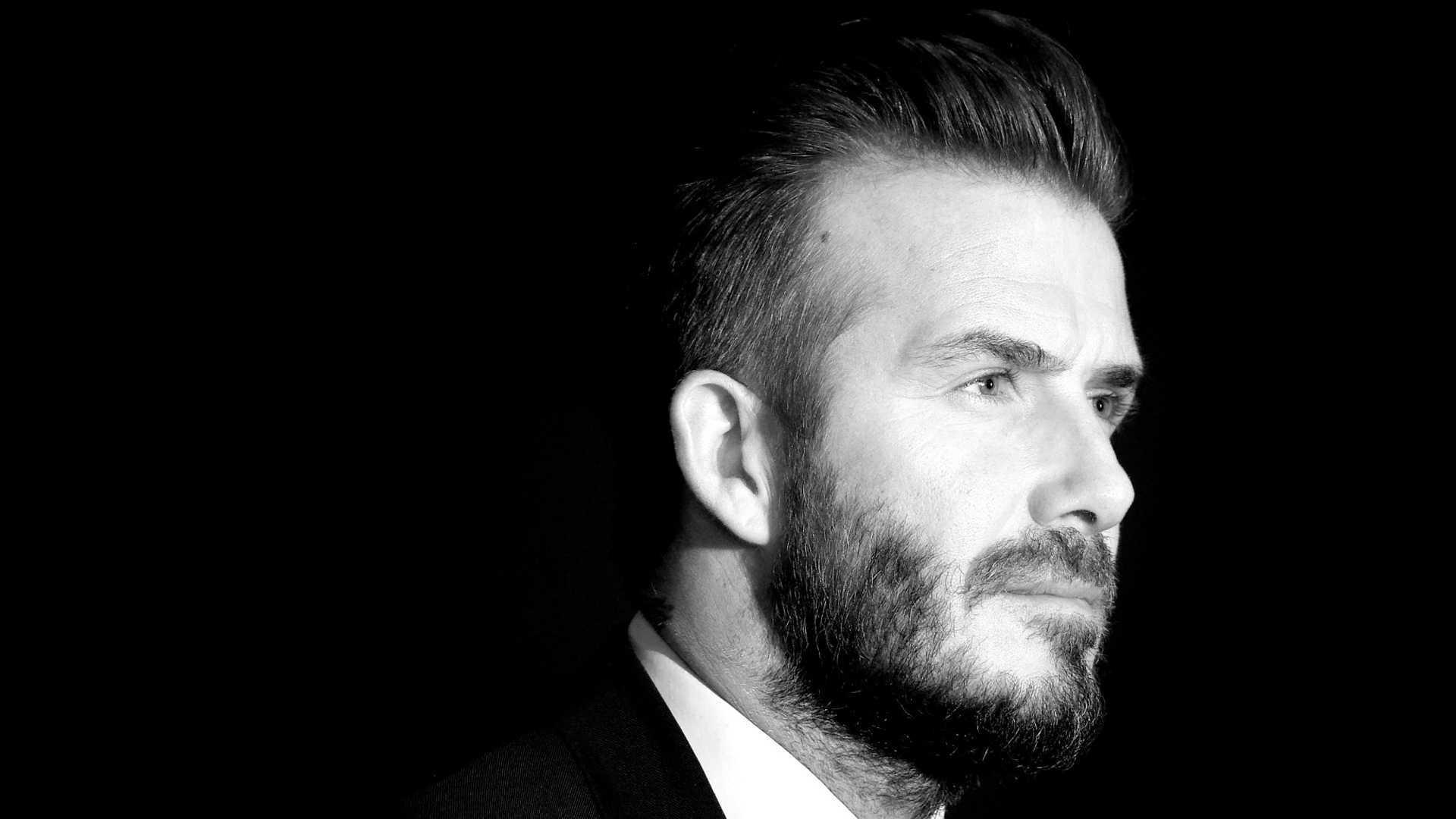 Monochrome David Beckham Wallpaper 53242