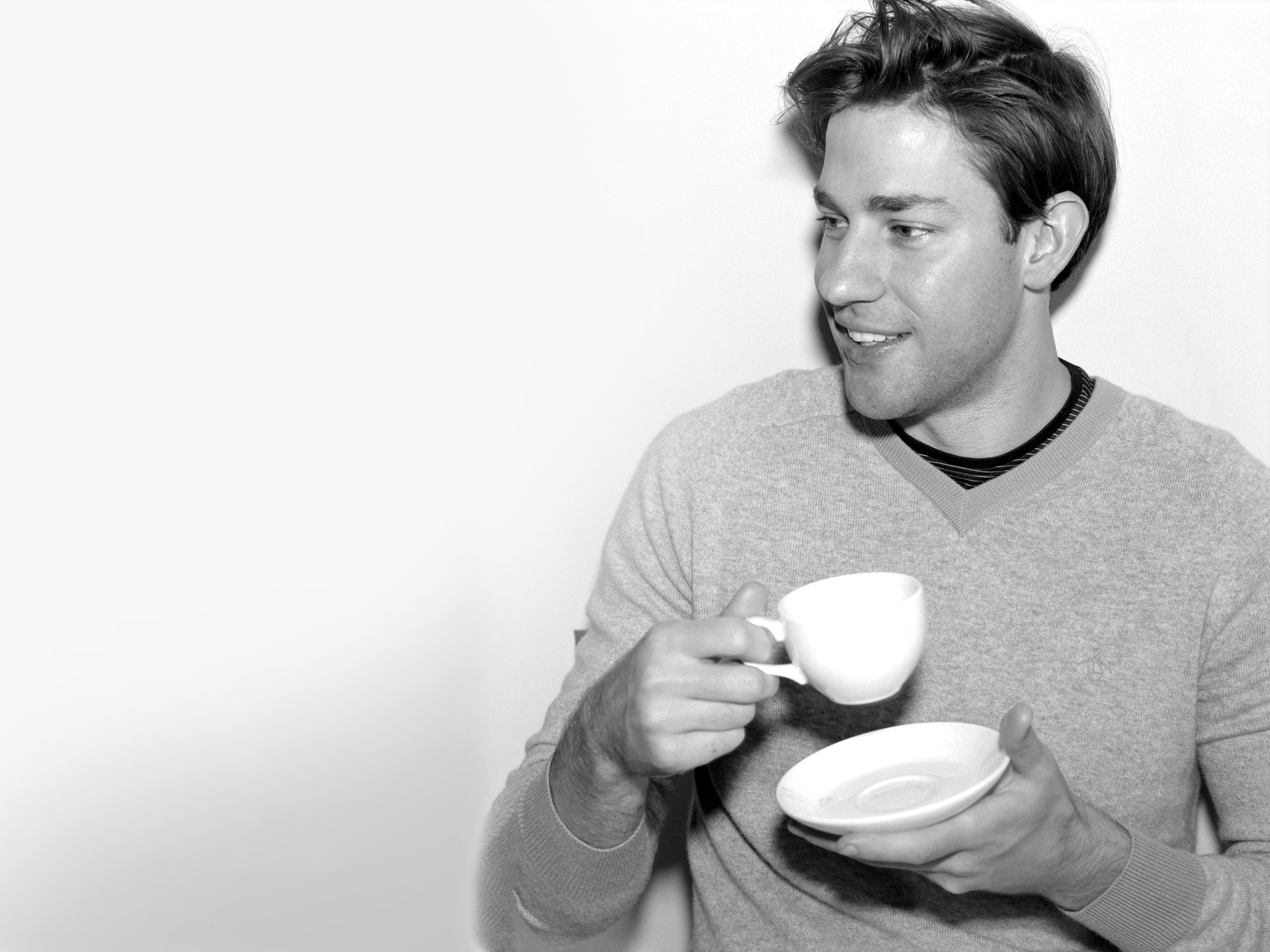 monochrome john krasinski wallpaper 54298