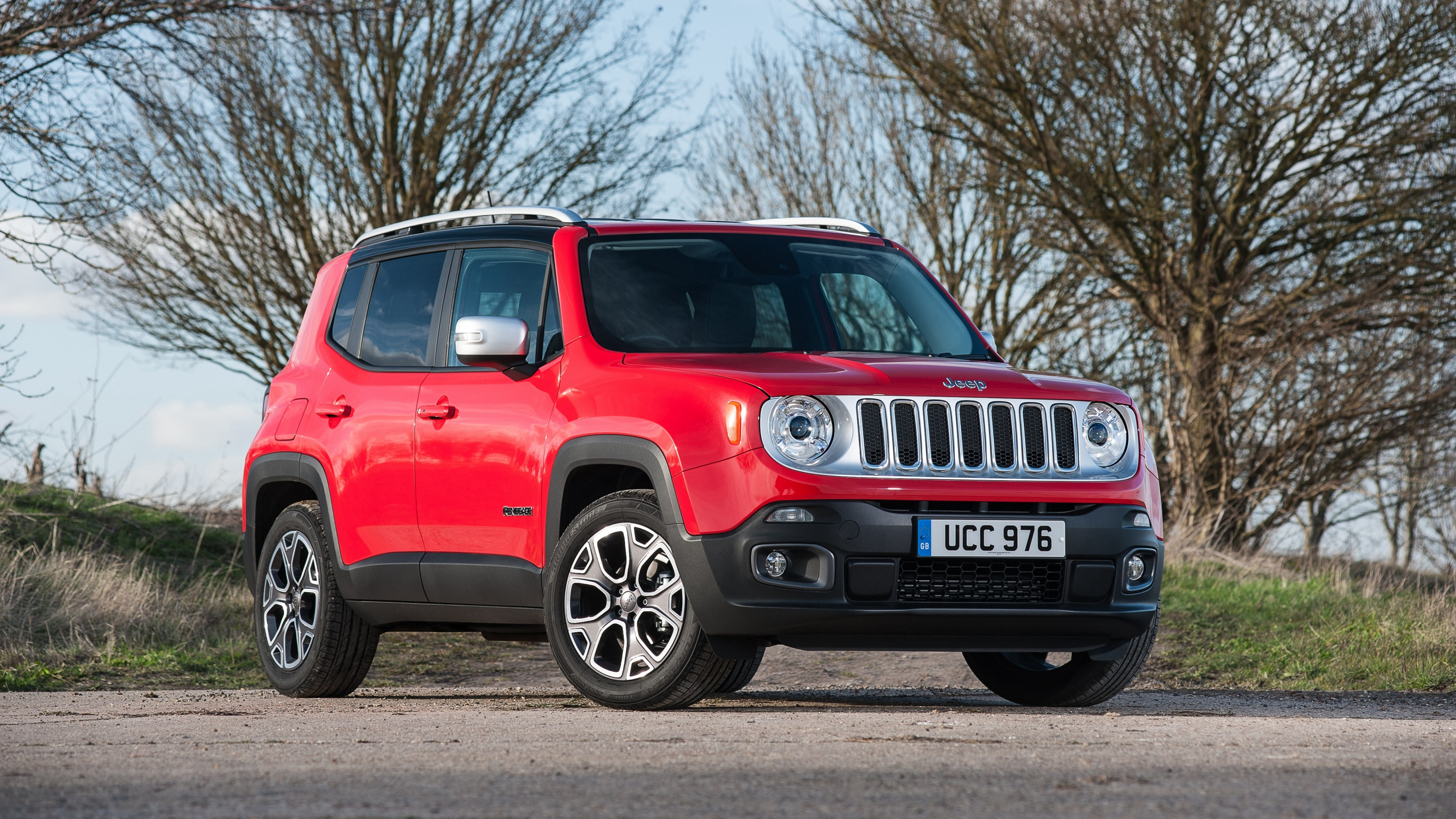 red jeep renegade wallpaper 49737