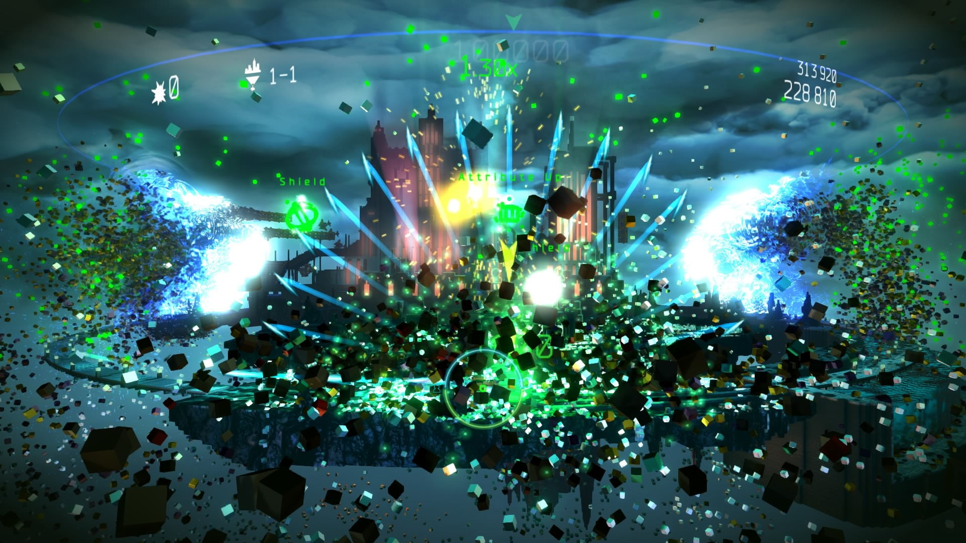 resogun ps4 game wallpaper 49447