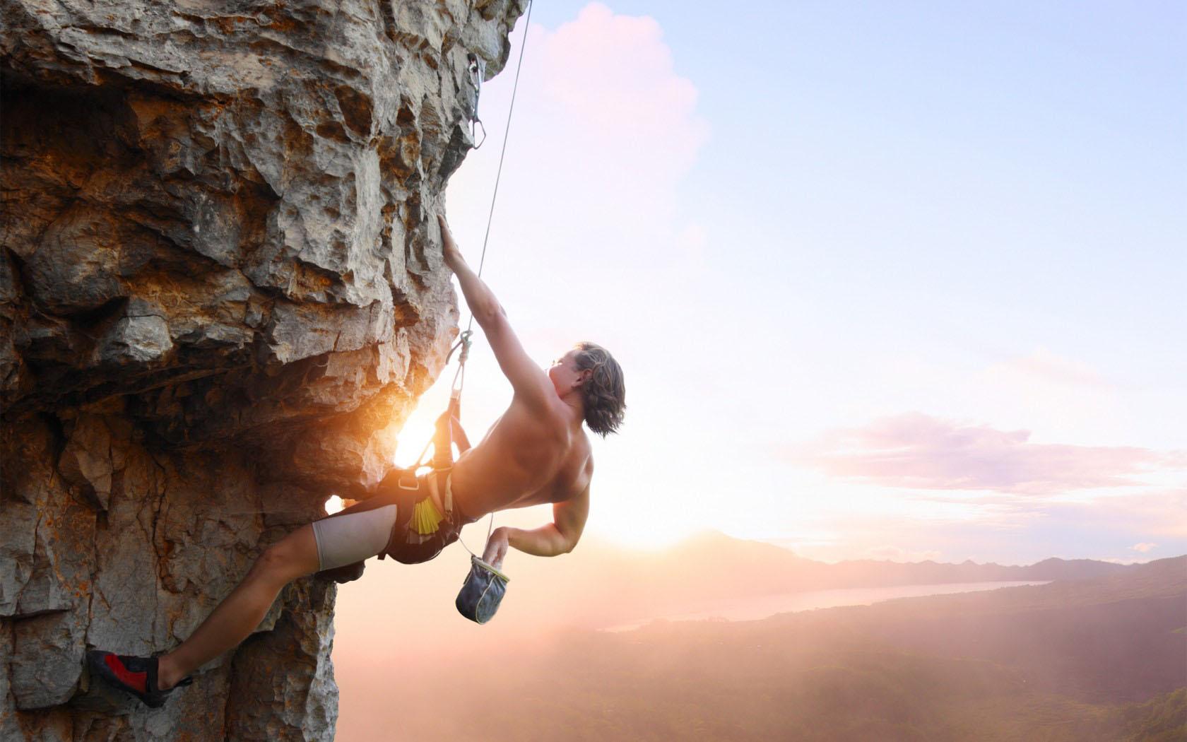 rock climbing computer wallpaper 56287