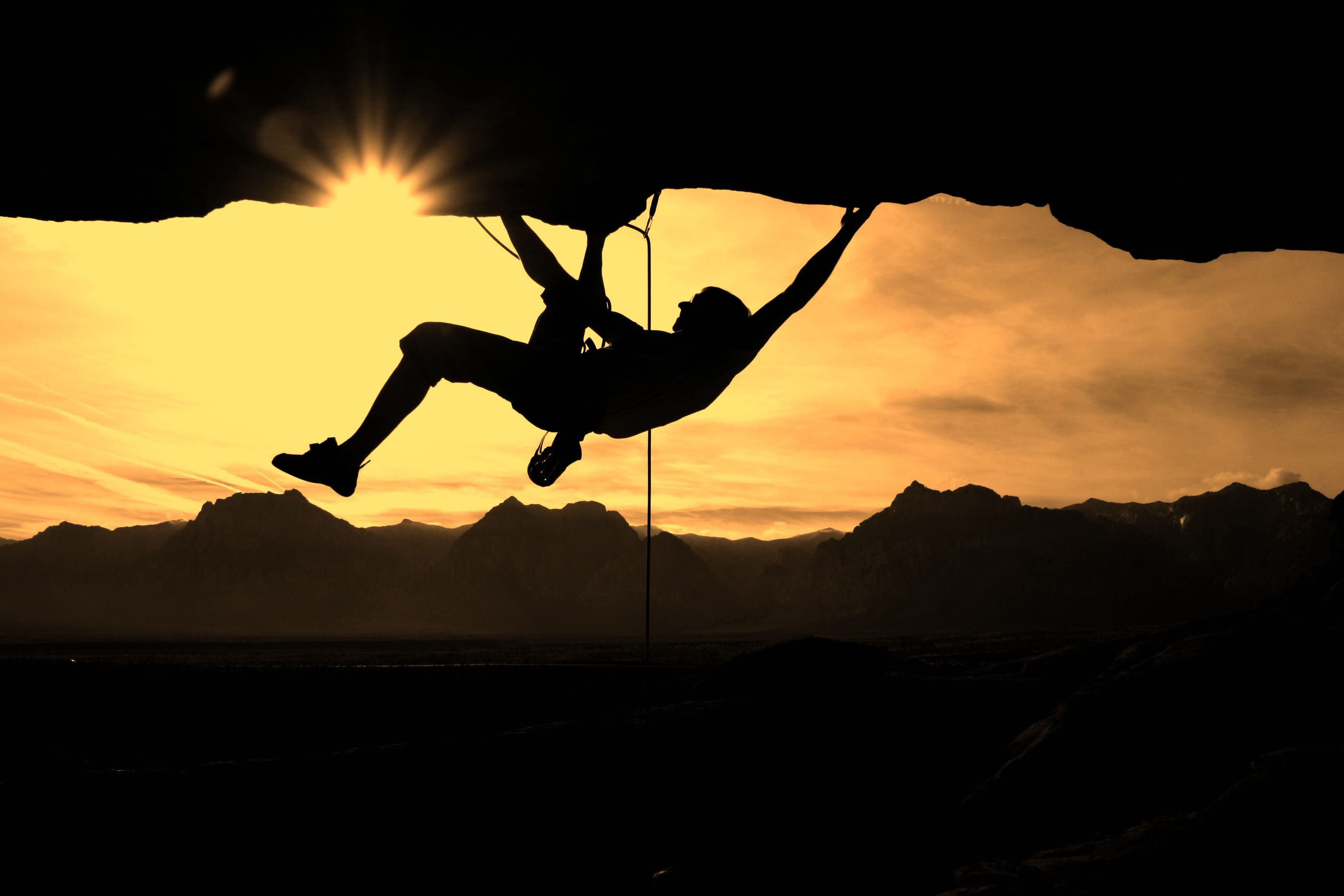 rock climbing wide wallpaper 56291