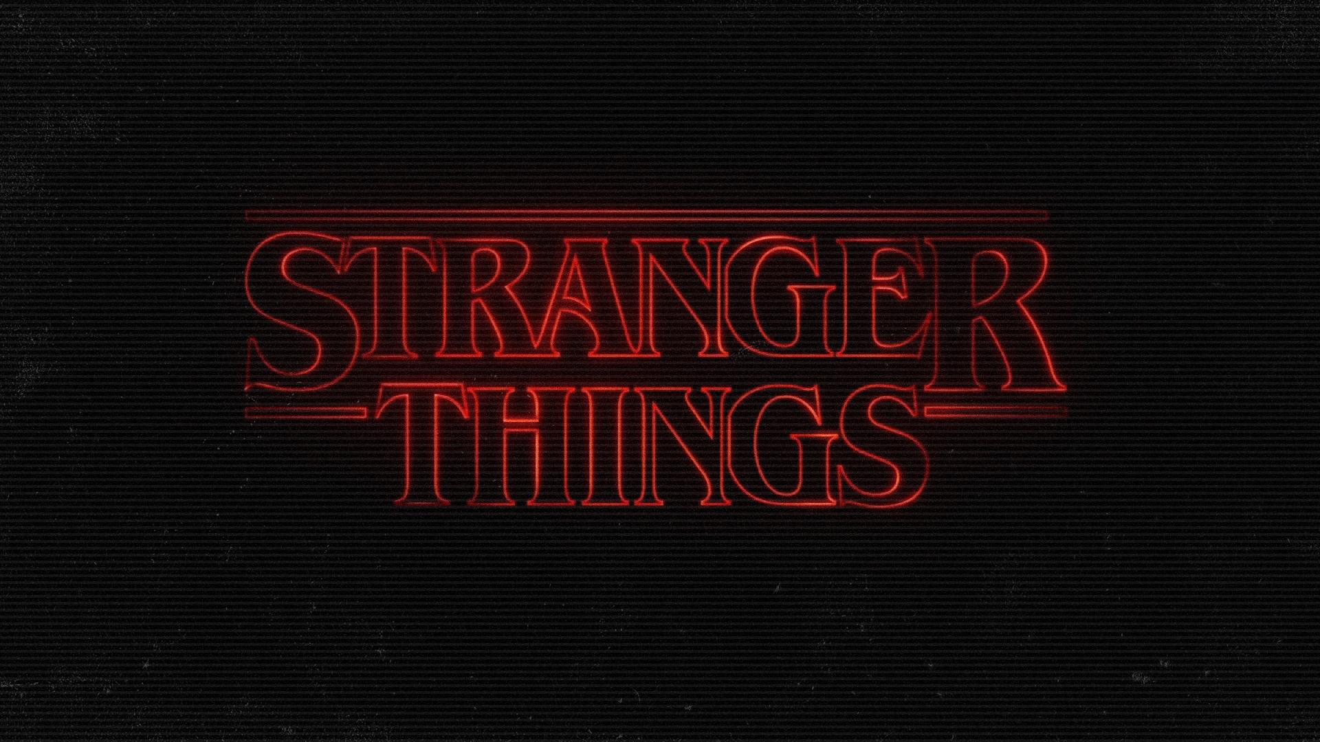 stranger things logo wallpaper 56292