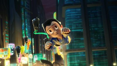 Astro Boy Flying Wallpaper 53829