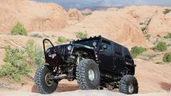 Black Jeep Widescreen Wallpaper 49734