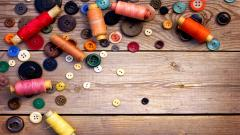 Buttons Sewing Wallpaper 49686