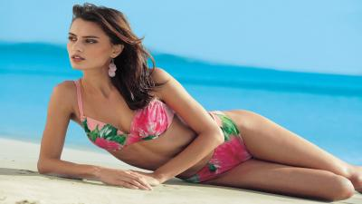Catrinel Menghia Bathing Suit Wallpaper 53820