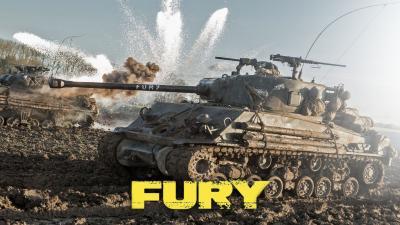 Fury Movie Desktop Wallpaper 54267