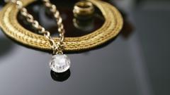 Gold Necklace Widescreen Wallpaper 49457