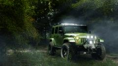 Green Jeep Widescreen Wallpaper 49739