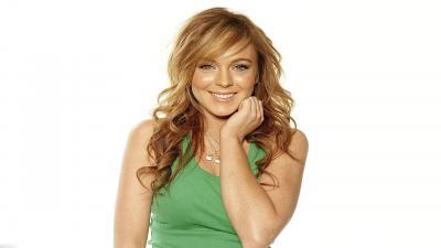 Lindsay Lohan Smile Wallpaper 54841