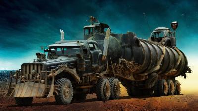 Mad Max Fury Road Vehicle Wallpaper 54272