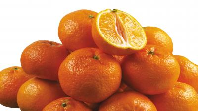Mandarin Oranges Wide Wallpaper 54252
