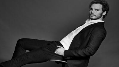 Monochrome Sam Claflin Desktop Wallpaper 57838
