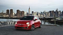 Red Fiat Wallpaper Background 49752