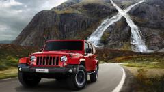 Red Jeep Wrangler Wallpaper 49743