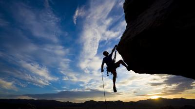 Rock Climbing Widescreen Wallpaper 56288
