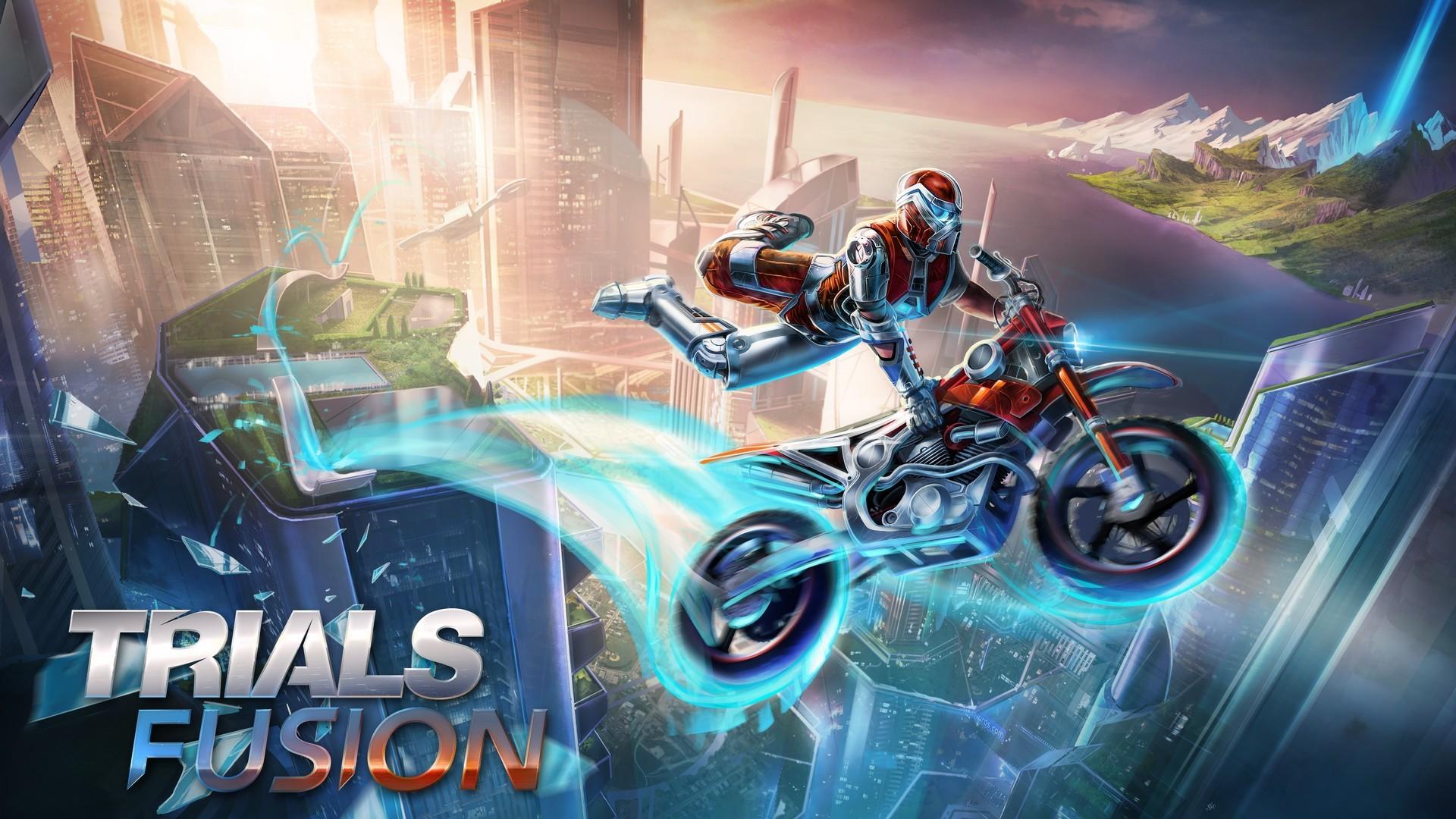 trials fusion video game hd wallpaper 54259