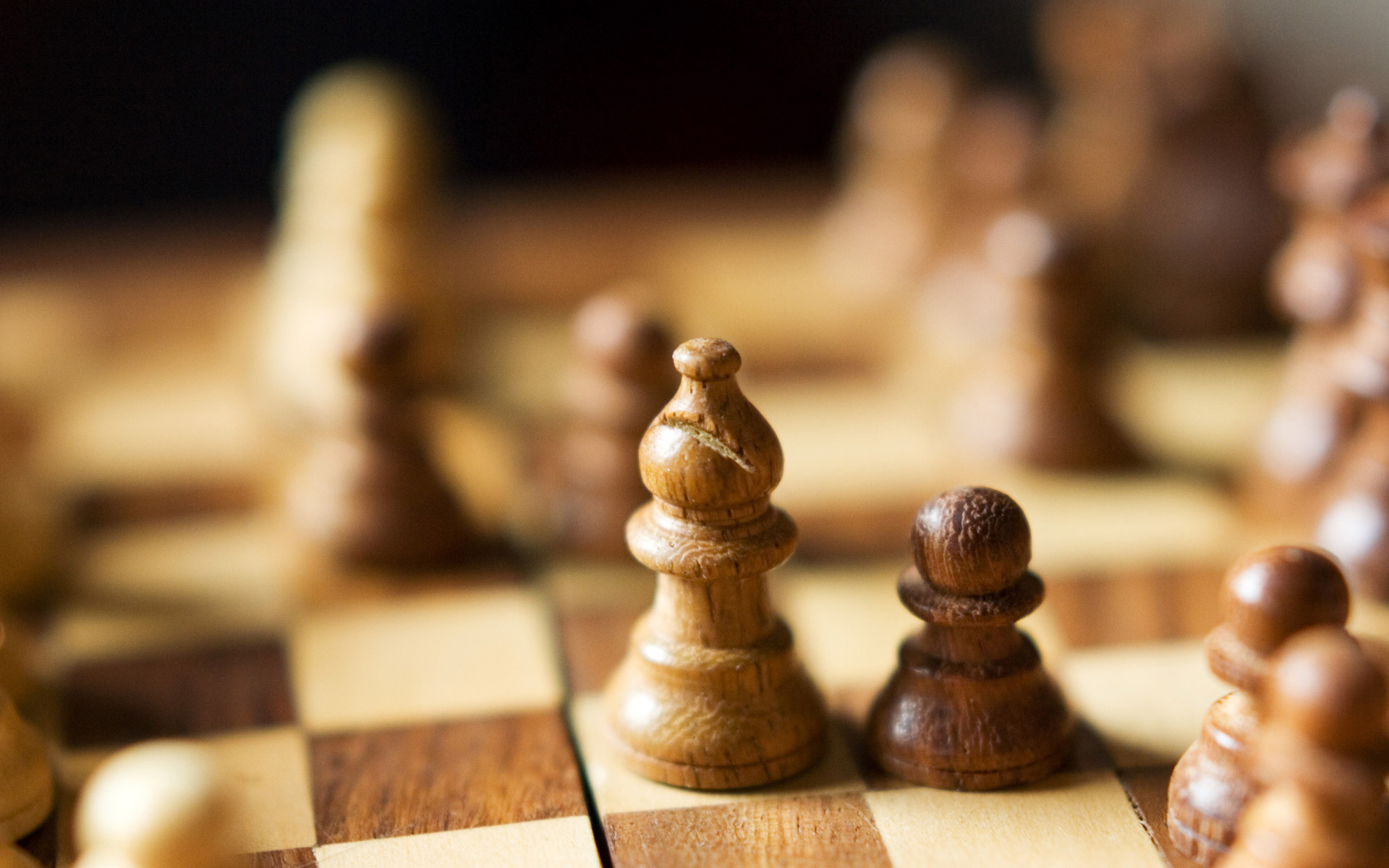 wooden chess desktop wallpaper 49450