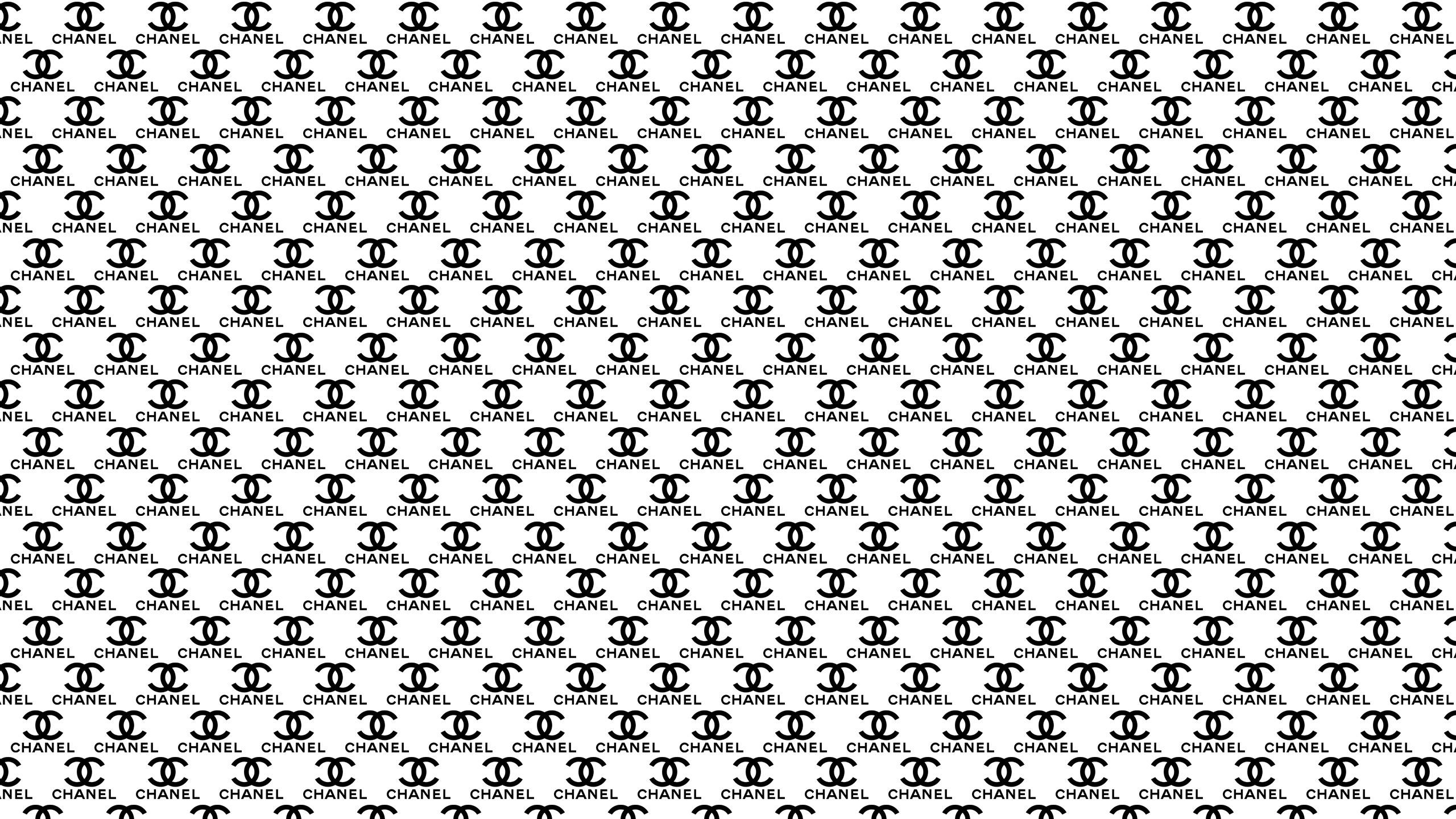 chanel logo pattern wallpaper background 54426