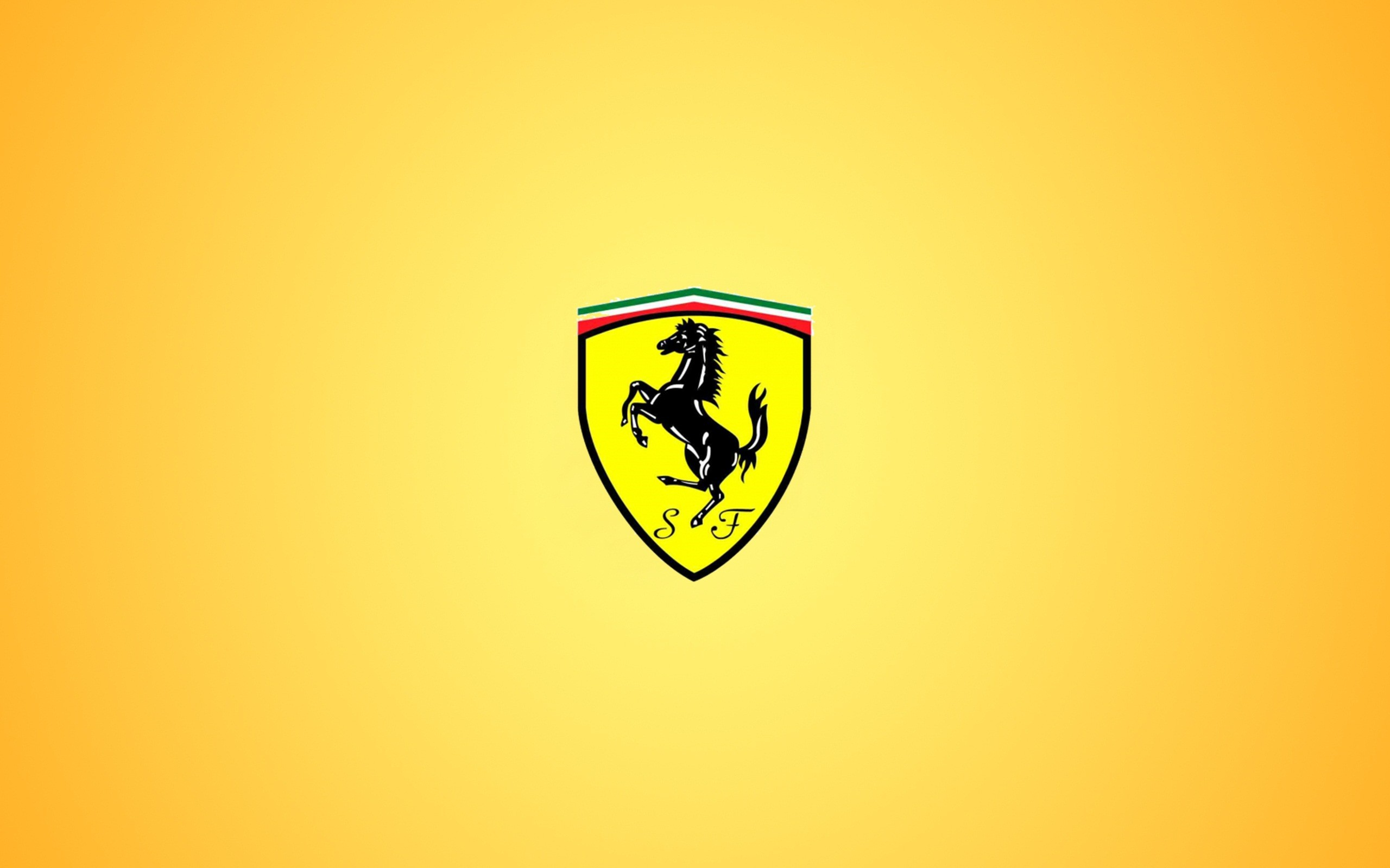 Ferrari Logo Wide Wallpaper 58910